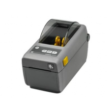 "Zebra DT Printer ZD410; 2"", 203 dpi, EU and UK Cords, USB, USB Host, EZPL - ZD41022-D0E000EZ"